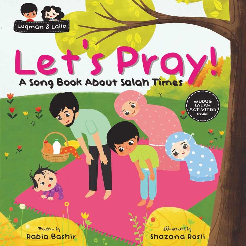 book about salah, islamic childrens book, bismillah bees, salah book for kids
