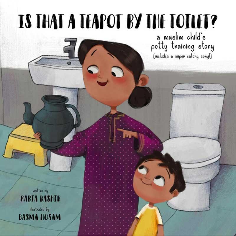 muslim potty training, muslim childrens book, islamic book for children, islamic children's book, how to potty train a muslim child, muslim parenting skills, islamic parenting, muslim book, islamic book,